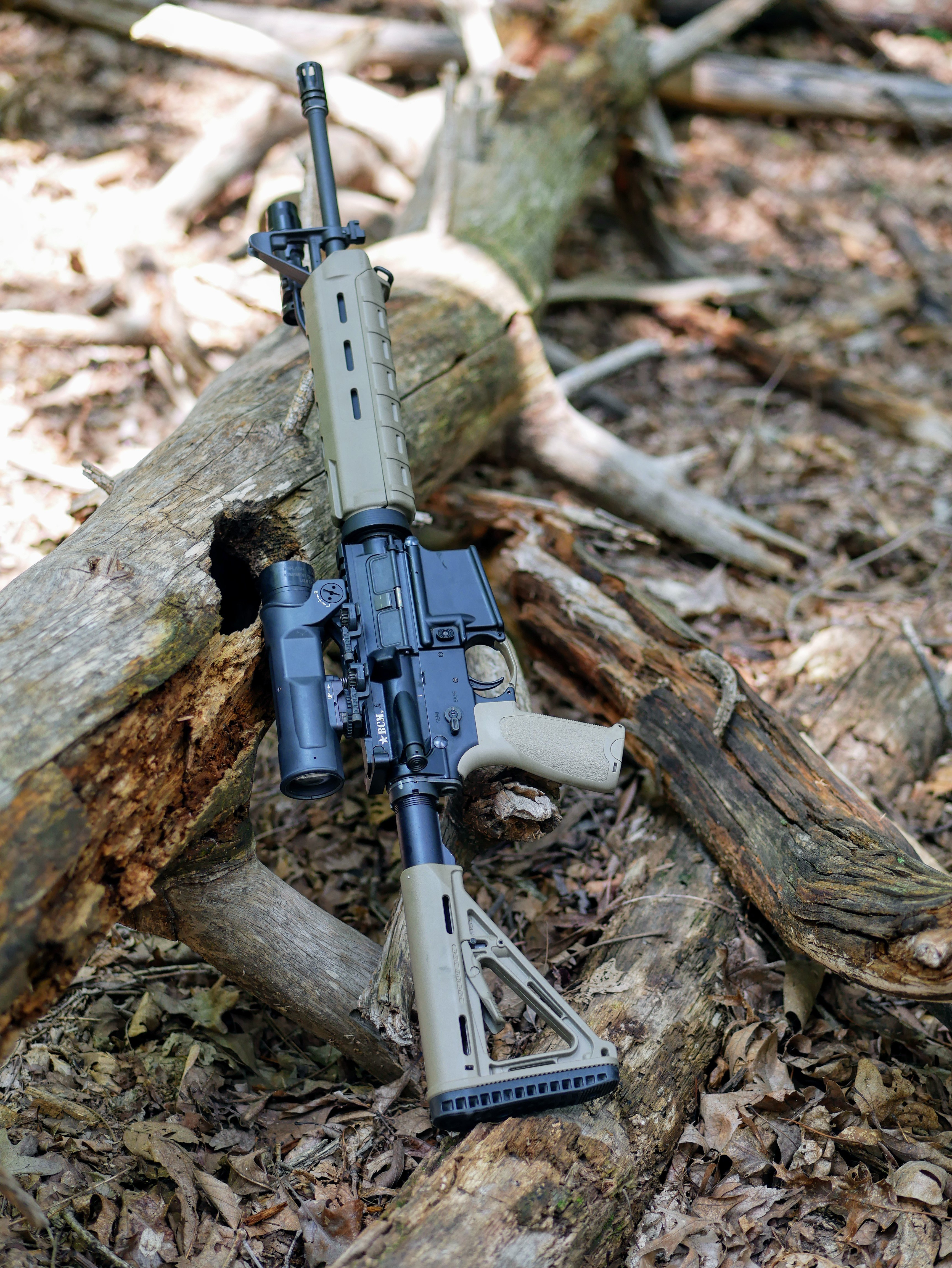 "Bravo Company USA (BCM) 16"" AR-15 in a basic configuration"