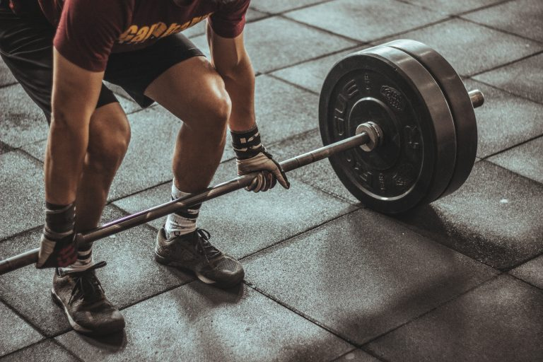 The deadlift, another key movement in the tactical fitness regime
