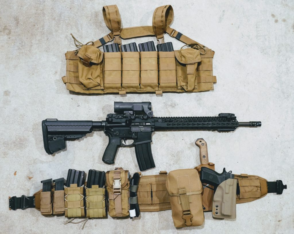 chest rig and battle belt