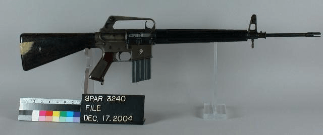 The AR-15 experimental rifle