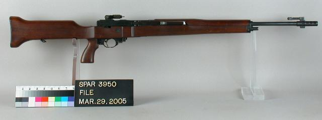 The T-25 experimental lightweight .30 caliber rifle