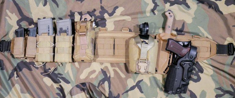 battle belt setup version 4