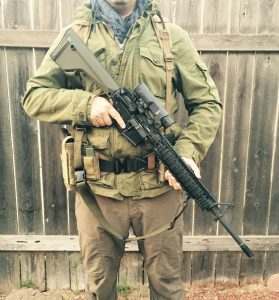 battle belt setup version 4 with rifle