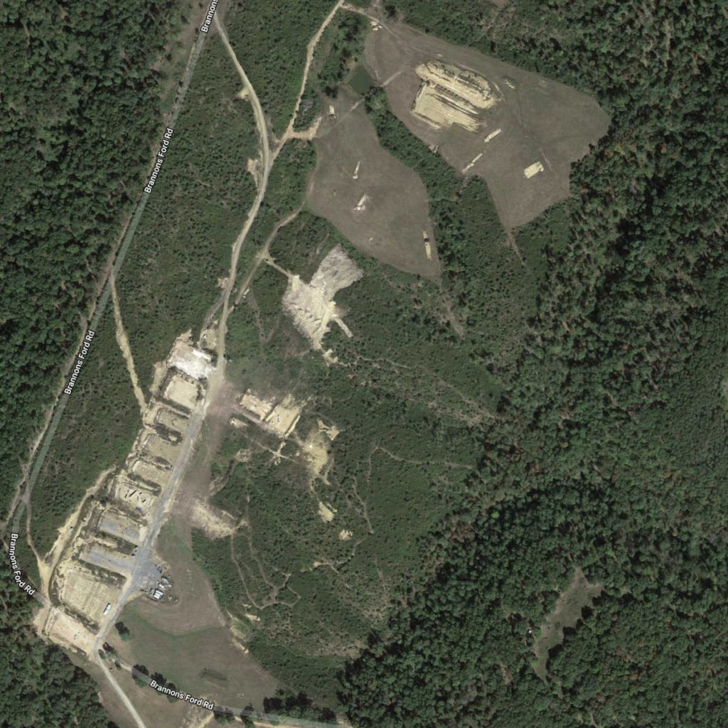 Satellite view of the Peacemaker National Training Center