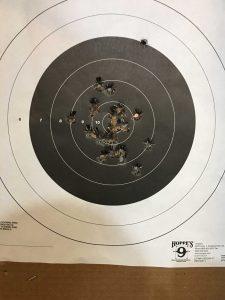 CZ P07 target 1
